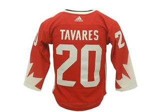 New NHL Youth Size Team Canada John Tavares Adidas World Cup Jersey New W Tags