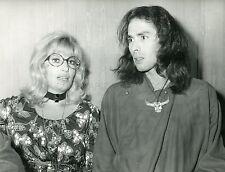 PIERRE CLEMENTI  MONICA VITTI  NINI TIRABUSCIO 1970 VINTAGE PHOTO ORIGINAL