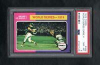 1975 TOPPS #464 WORLD SERIES GAME 4 PSA 8 NM/MT++CENTERED!
