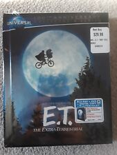 E.T. The Extra-Terrestrial (Blu-ray/DVD, 2012, Anniversary Edition) out of print