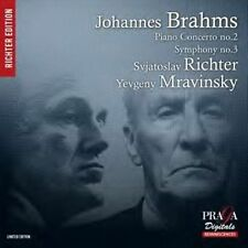Johannes Brahms: Piano Concerto No. 2; Symphony No. 3 Super Audio Hybrid CD...