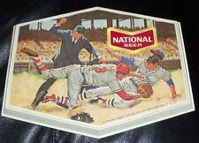 1950s National Beer Baltimore Brewing Company Baseball Sign Advertising