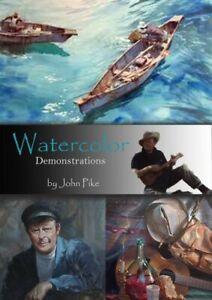 *SALE* Watercolor Demonstrations by John Pike (DVD)