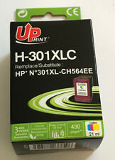 DESTOCKAGE UPRINT @ CARTOUCHE COMPATIBLE QUALITE HP 301 XL COULEURS HP DESKJET
