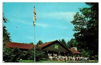 1950s/60s New Jersey 4-H Camp Dining Hall, Branchville, NJ Postcard *5Q4