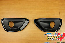 2014-2015 Jeep Grand Cherokee Altitude Black Fog Lamp Bezels Mopar OEM