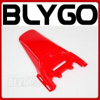 Red Plastic Rear Tail Mud Guard Fender CRF50 Style PIT PRO Trail Dirt Bike