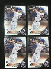 ( 4x ) MICHAEL CONFORTO RC 2016 TOPPS CHROME #52 METS ROOKIE LOT