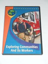 DVD - EXPLORING COMMUNITIES AND ITS WORKERS Grade K-3 Social Studies