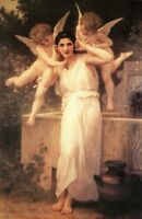 William Adolphe Bouguereau L Innocence Fine Art Poster 12x18 inch