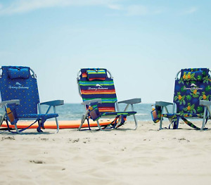 Tommy Bahama 2 Backpack Beach Chairs - Pick your Design
