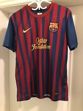 Authentic Dri-fit Nike FC Barcelona Jersey - Size M (Great Condition - One Flaw)