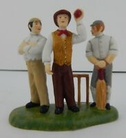 Dept 56 Dickens Village Awaiting The Umpire's Call #4020197 Never Displayed