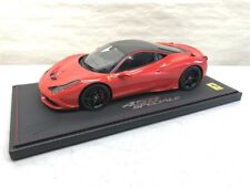 1:18 BBR 1975 Ferrari 458 Rosso Scuderia with Carbon Roof LE of Just 48! P1868RS