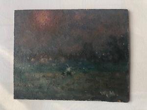 WILLIAM MASON 1906-2002 Welsh ARCA oil on board signed Impressionist Sunset