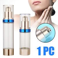 15/30/50ML Empty Cosmetic Airless Bottle Plastic Treatment Pump Travel Bottles
