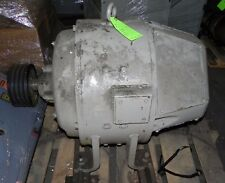 Reliance Heavy Duty Dc Motor Type T 7510hp 4501800rpm 230v Fra92t