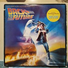 ALan Back To The Future Movie Soundtrack OST Vinyl LP Record Original 1985 Press