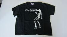 90s Vintage Crop T Shirt Women's Goth/Fetish Art Black New Wot Large