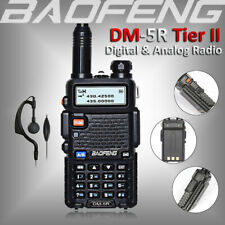 Baofeng DM-5R DMR Digital Analog Two Way Radio Tier II Dual Band Walkie Talkie