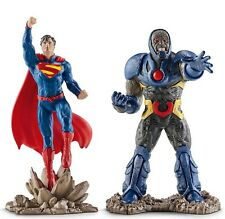 Figurine Superman Darkseid Lot x2 DC Comics Jouet Justice League Schleich 22509