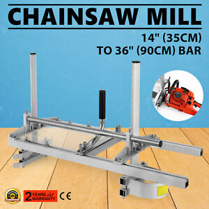 """14"""" - 36"""" Chain Saw Mill Planking Lumber Cutting Versatile Tool Chainsaw"""