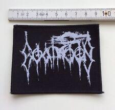 Goatmoon - Logo Aufnäher / Patch (Black Metal Sammlung, Satanic Warmaster)