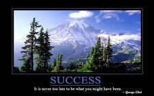"067 Motivational Inspirational - Success Motivational Quotes 22""x14"" Poster"