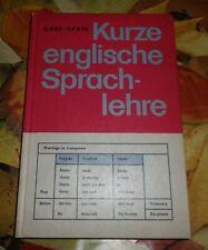 DDR + Schulbuch +kurze englische Sprachlehre + Grammatik++ Englisch - Unterricht