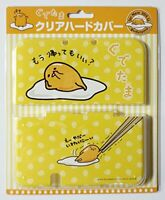 Nintendo 3DS LL XL Clear Hard Case Cover Gudetama Egg Japan Official JAPAN