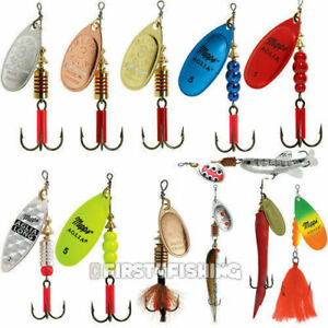 Mepps Aglia Spinners - Sea Trout Pike Perch Salmon Bass Fishing Lures Tackle