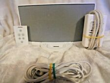 Bose SoundDock Series I Docking Station in white for iPod with leads & remote