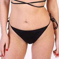 Diesel BFPN Nicy Damen Schwarz Bikini Briefs - L Large