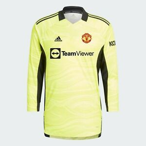 MANCHESTER UNITED 21/22 HOME GOALKEEPER JERSEY - Brand New With Tags