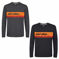Ski-Doo X-Team Long Sleeve Shirt Casual Soft Comfy Offroad Trail Style Tee Shirt