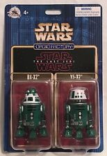 Disney Parks 2017 Star Wars The Last Jedi Droid Factory R4-X2 & Y5-X2 2 Pack 4+