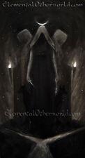 Hécate impresión, la mitología griega Bruja diosa Pintura, Pagano obra de arte, arte oscuro A4