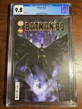 Batman '89 #1  Michael Keaton  DC Comics  1st Print    CGC 9.8 White Pages!