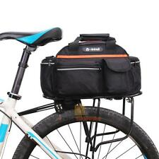15L Cycling Bicycle Bike Rear Seat Rack Storage Trunk Bag Handbag Pannier Pouch