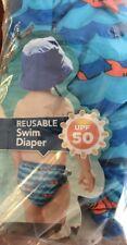 Swim School Reusable Swim Diaper Machine Washable 12 Months 18-25 lb Free Ship
