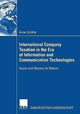 International Company Taxation in the Era of Information and Communication...