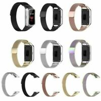 NEU Für Samsung Galaxy Fit SM-R370 Uhr Edelstahl Milanese Armband Band Strap HYA
