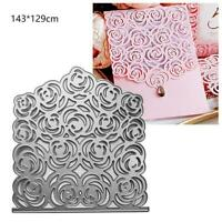 Lace Flower Cutting Dies Stencil DIY Scrapbooking Papers Card Embossing Decora