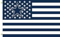 Dallas Cowboys 3x5 Foot American Flag New