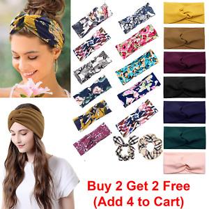 Women Unisex  Hair Head Hoop Band Sport Headband Hairband Fashion Bee Pattern