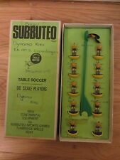 SUBBUTEO HW HEAVYWEIGHT ROMANIA 160 FOOTBALL TEAM BOXED BLUE SHIRTS YELLOW TOP