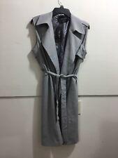 Akira ladies size medium NWT belted sleeveless trench style jacket