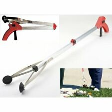 New 30 Inches Foldable Reacher Pick Up Tool Grabber Stick Reaching Grab Extend