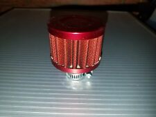 Rc Metal Nitro Air Filter Washable (Red)