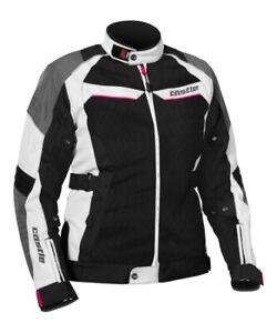Castle X Passion Air Women's Textile Jacket MED White/Hot Pink